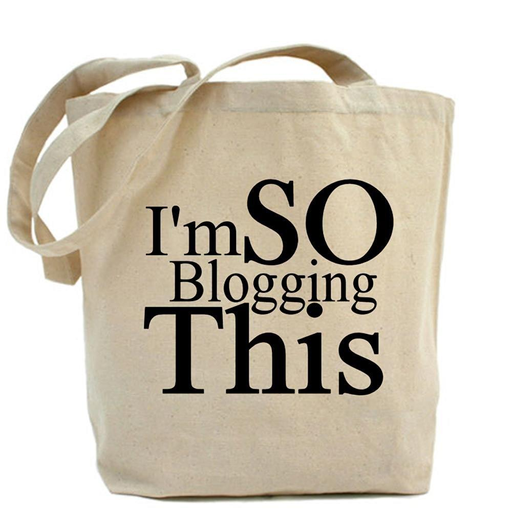I'm SO Blogging This Tote bag