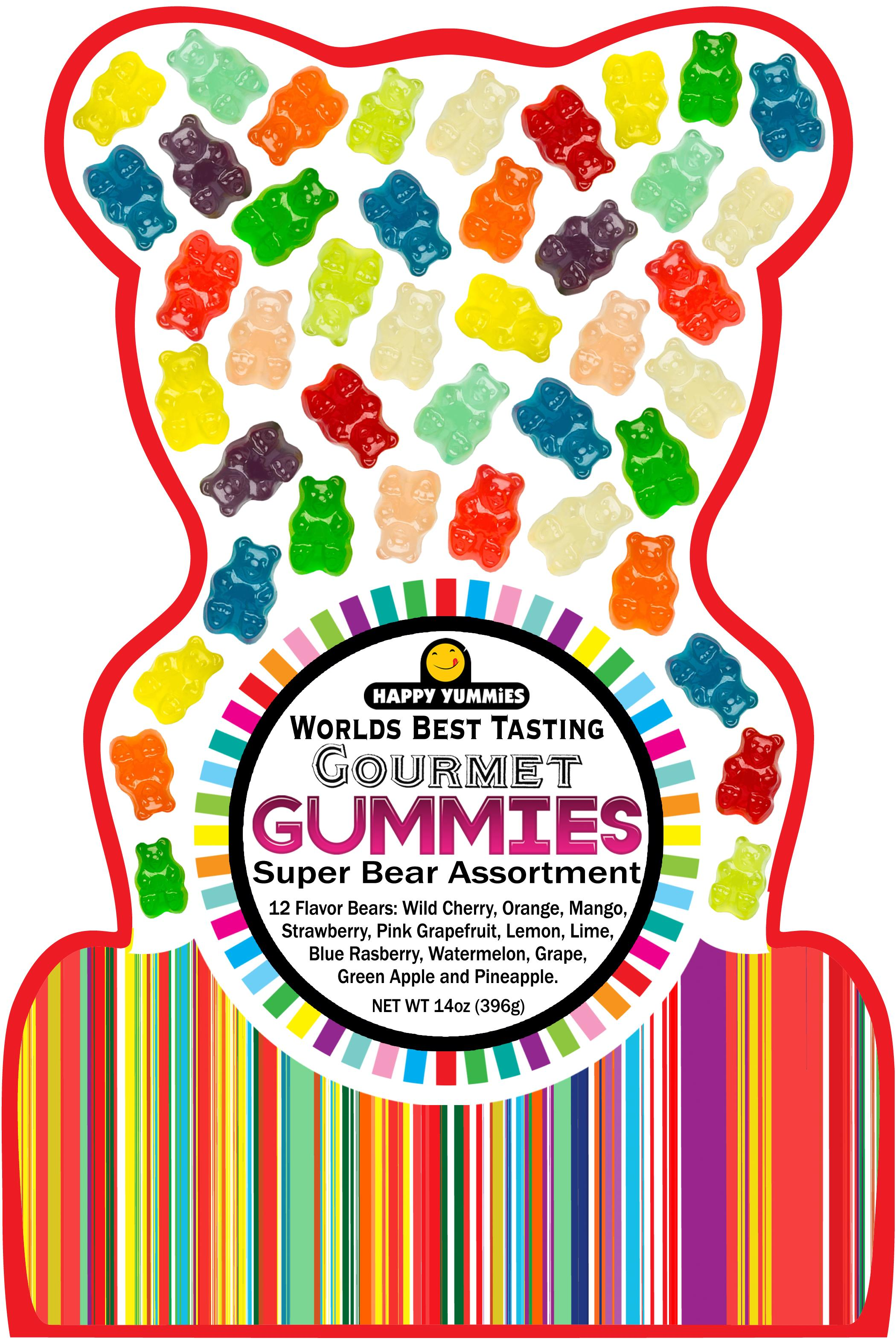 Happy Yummies worlds best tasting gummies