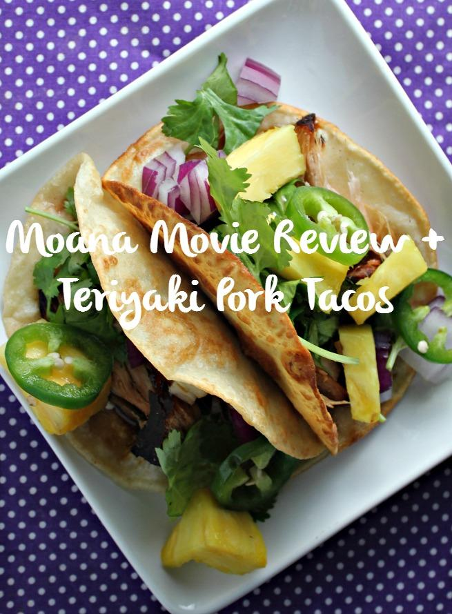 Moana Inspired Slow Cooker Teriyaki Pork Taco from Jamie Loves Stuff