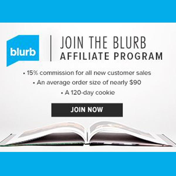 Join the blurb affiliate program