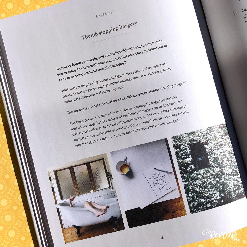 Review Wire Media: Hashtag Authentic by Sara Tasker Inside Look Page 78