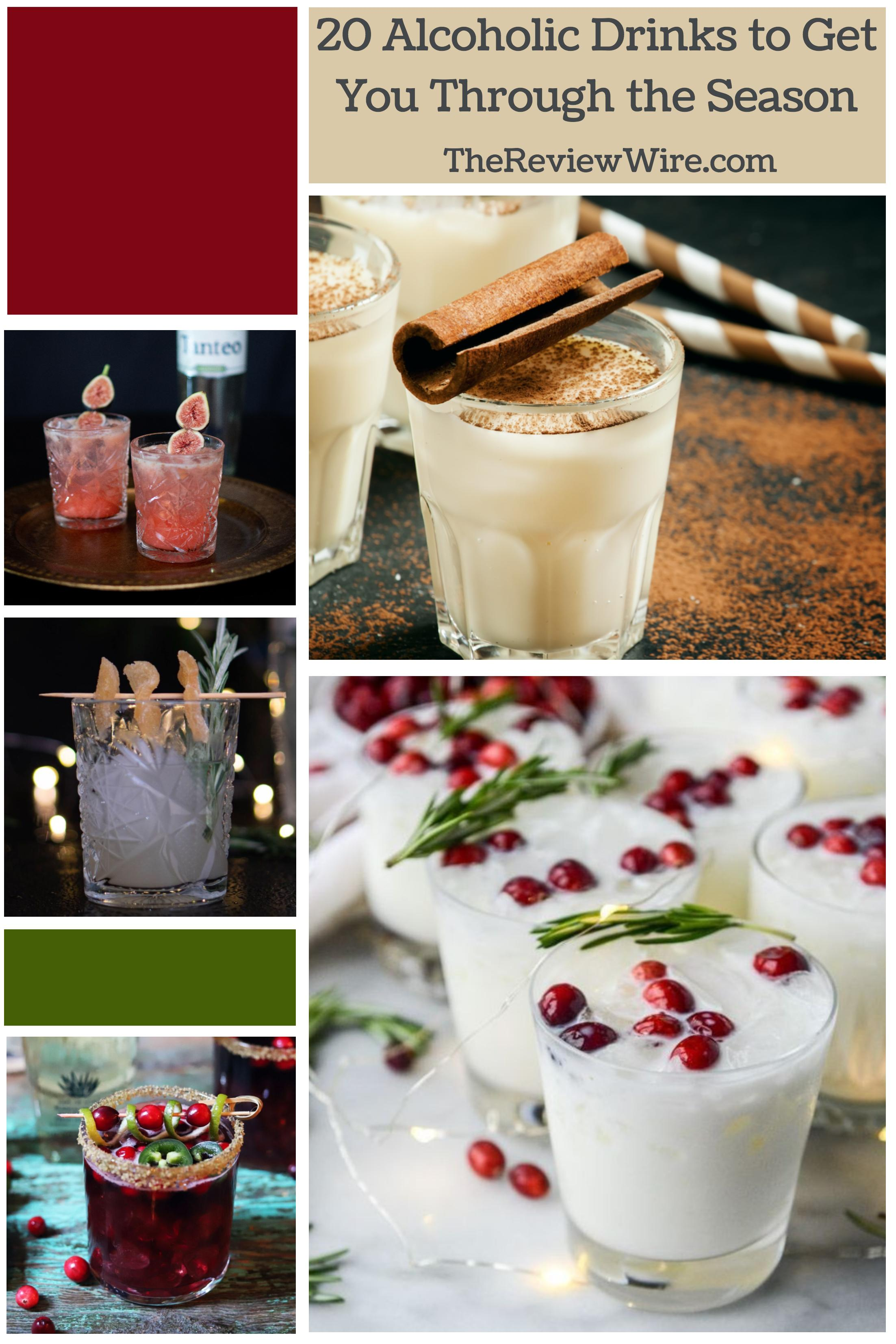 20 Alcoholic Drinks to Get You Through the Season (2)