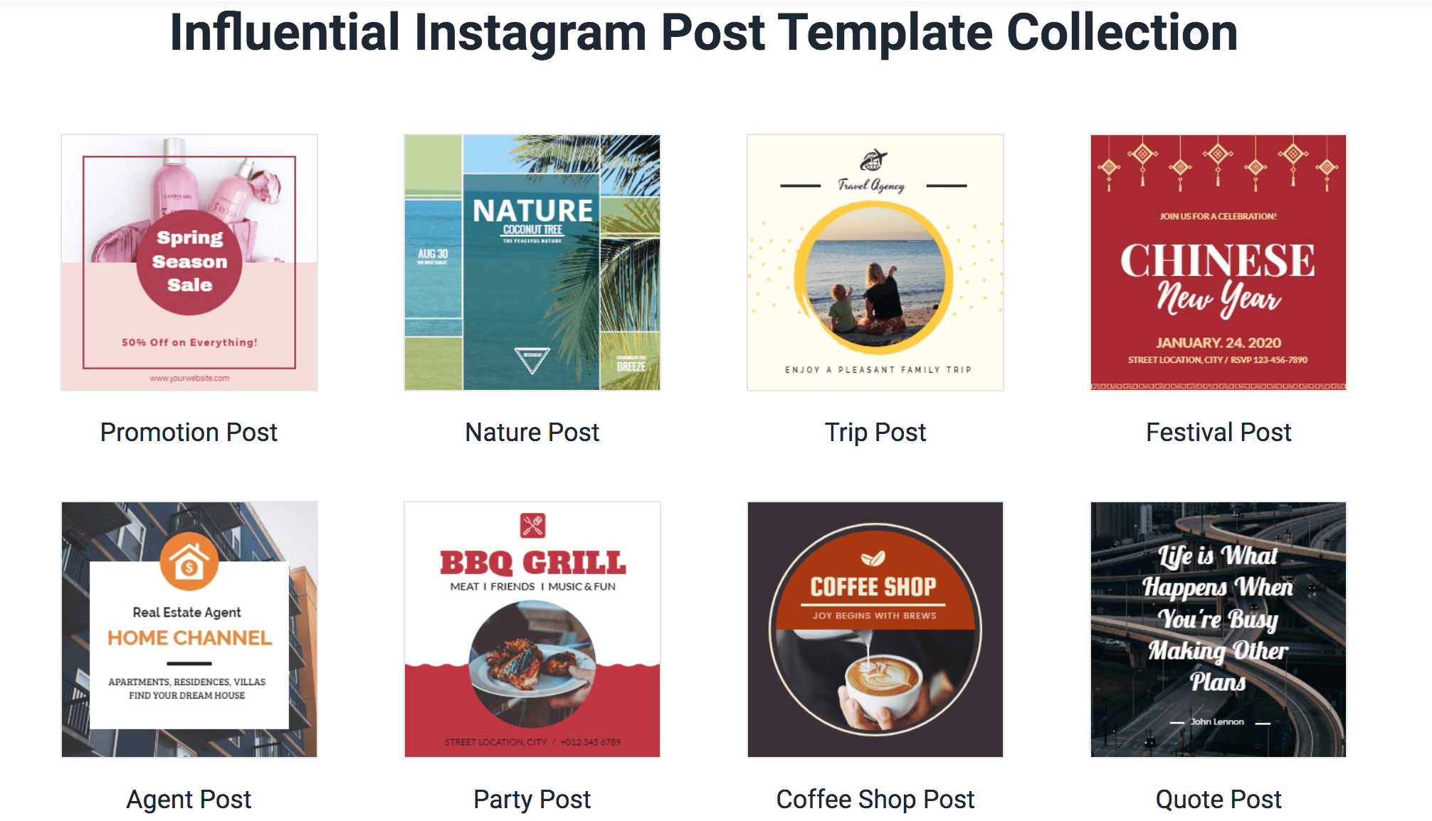 DesignCap - Instagram Template Collection