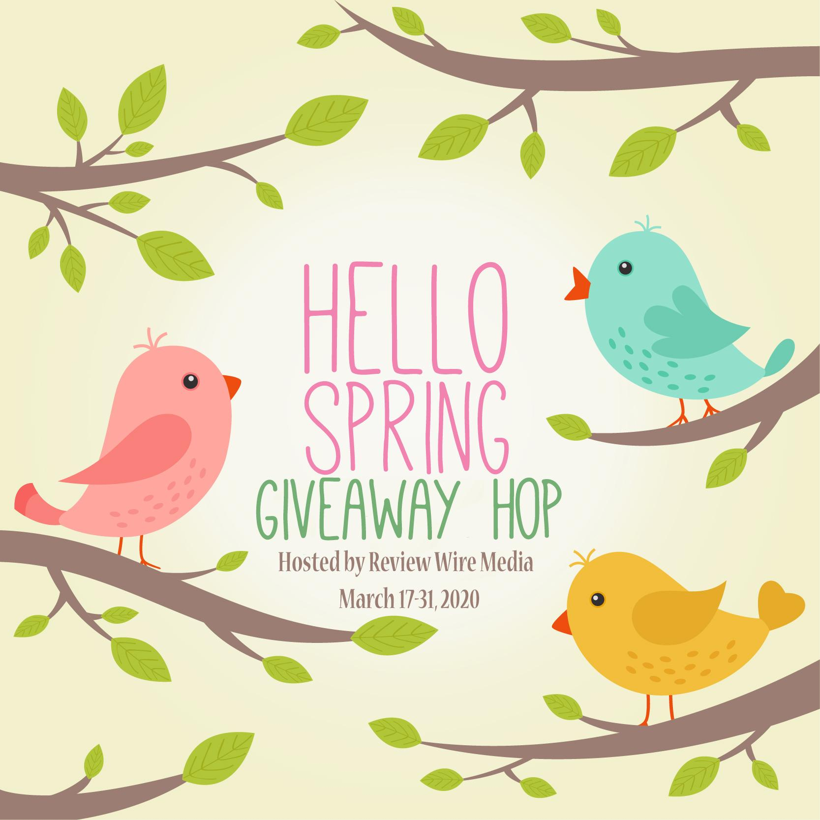 Hello Spring Giveaway Hop 2020